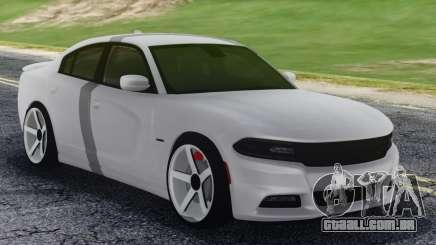 Dodge Challenger SRT White para GTA San Andreas