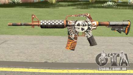 CS:GO M4A1 (Demolition V2 Skin) para GTA San Andreas