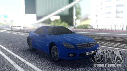 Mercedes-Benz SL65 Blue para GTA San Andreas