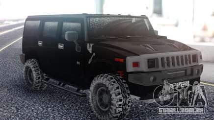 Hummer H2 Snow para GTA San Andreas