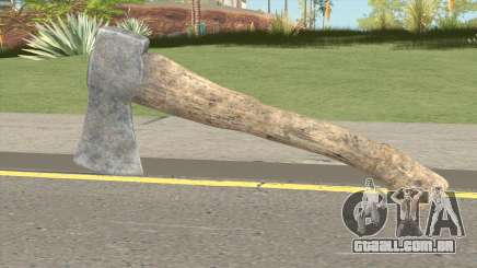 Hatchet From Resident Evil 7 para GTA San Andreas