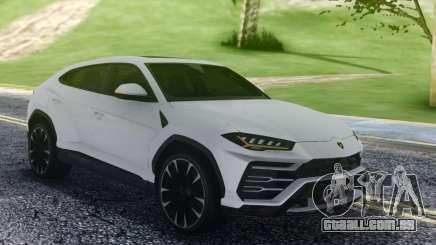 Lamborghini Urus White para GTA San Andreas