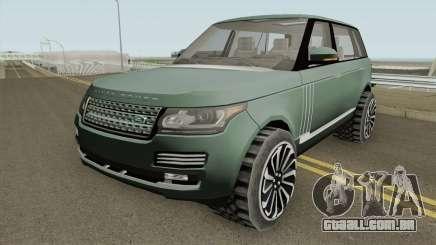 Range Rover SV Autobiography para GTA San Andreas