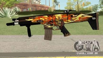 Scar-L Skull para GTA San Andreas