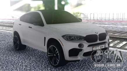 BMW X6 White para GTA San Andreas