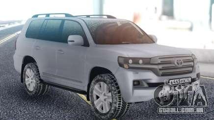 Toyota Land Cruiser 200 Winter Edition para GTA San Andreas