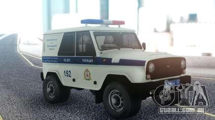 UAZ Caçador DPS para GTA San Andreas