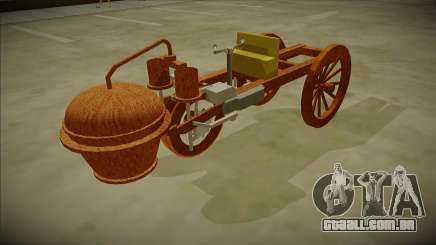 Cugnot Steam Car 1771 para GTA San Andreas