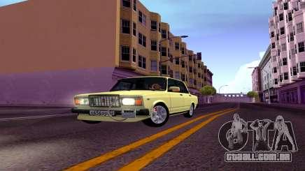 2107 De Combate Clássico Limousine para GTA San Andreas