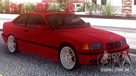 BMW M3 E36 Stock Red para GTA San Andreas