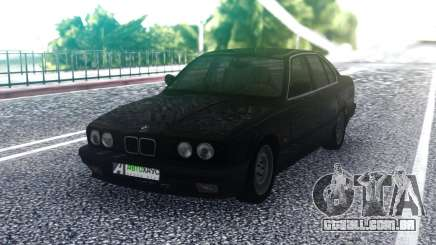 BMW E34 525 Black para GTA San Andreas