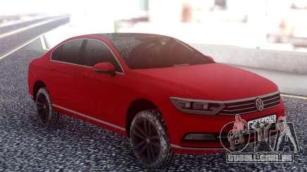 Volkswagen Passat B8 Red para GTA San Andreas