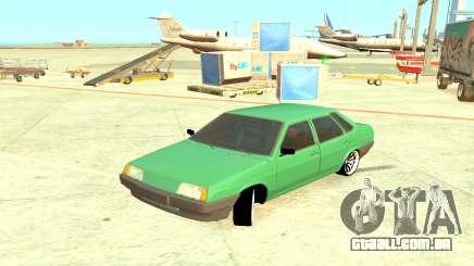 VAZ 21099 Verde para GTA 4
