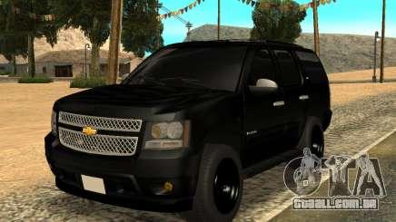 Chevrolet Tahoe Black para GTA San Andreas
