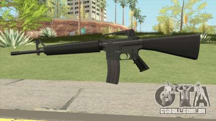 M16A2 Default Design (Ext Mag) para GTA San Andreas