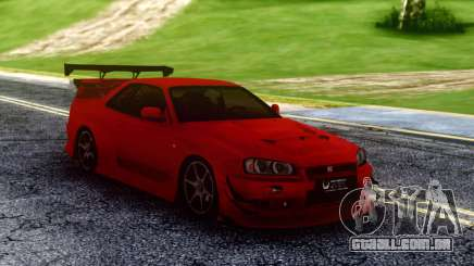 Nissan Skyline Racing para GTA San Andreas