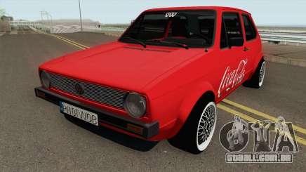Volkswagen Golf C - Coca Cola Edition 1983 para GTA San Andreas