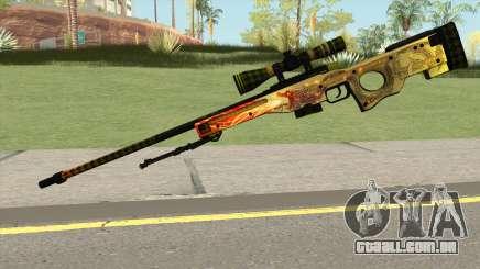 CSGO AWP Dragon Lore para GTA San Andreas