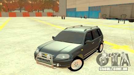 Chevrolet Niva Grey para GTA 4