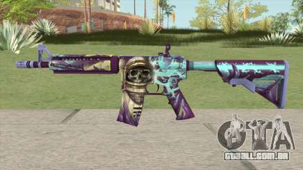 CS-GO M4A4 Desolate Space para GTA San Andreas