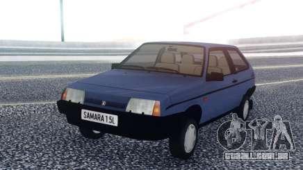 VAZ 2108 de Exportação do reino UNIDO para GTA San Andreas
