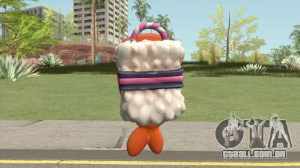 Sushi Backpack (Parachute) para GTA San Andreas