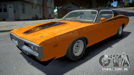 Dodge Charger Super Bee 1971 para GTA 4