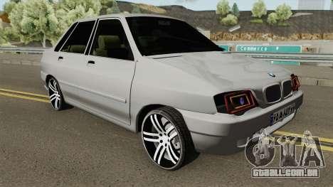 Saipa Pride 132 TU para GTA San Andreas