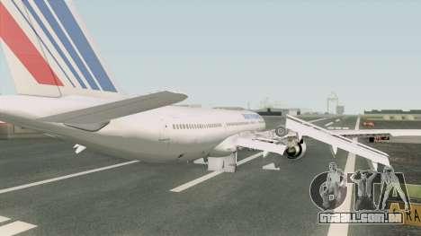 Airbus A330-200 GE CF6-80E1 (Air France) para GTA San Andreas