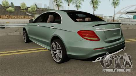 Mercedes-Benz E63S W213 para GTA San Andreas