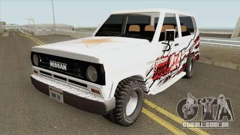 Nissan Patrol 160 (1980) para GTA San Andreas