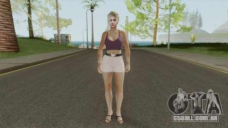 Jill Valentine Casual V1 para GTA San Andreas