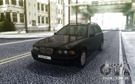 BMW 540i E39 Touring para GTA San Andreas