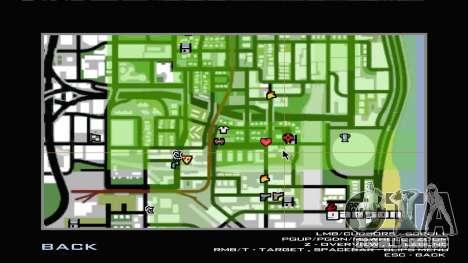 Carl New Home In Ganton para GTA San Andreas