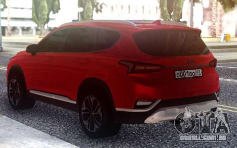 Hyundai Santa Fe FIX RED para GTA San Andreas