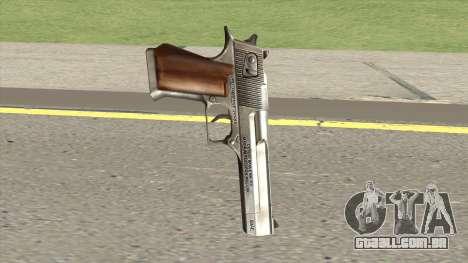 Desert Eagle Chrome GTA IV para GTA San Andreas