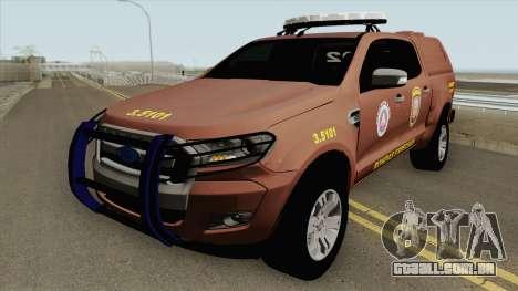 Ford Ranger 2017 Rondesp Sudoeste para GTA San Andreas