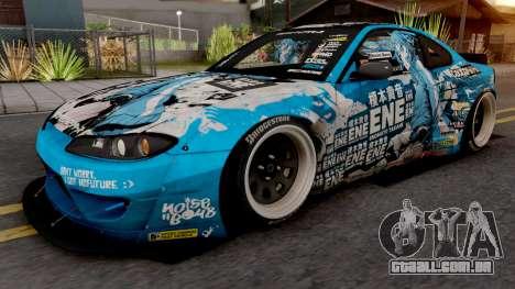 Nissan Silvia S15 Enomoto Takane Itasha para GTA San Andreas