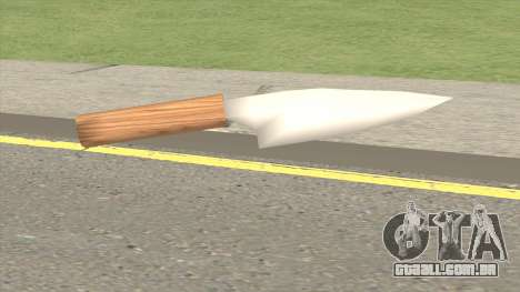 Stainless Steel Knife para GTA San Andreas