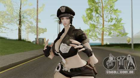 Stella Police Uniform - Thicc Version para GTA San Andreas