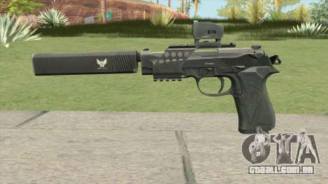 Contract Wars Beretta 92 para GTA San Andreas