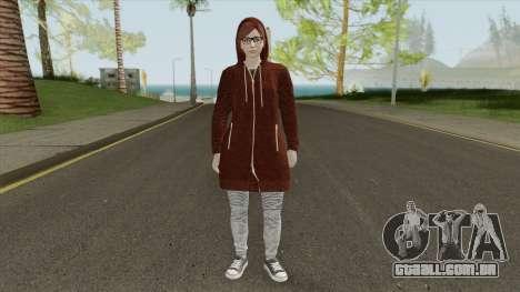 GTA Online Female Skin 2 para GTA San Andreas