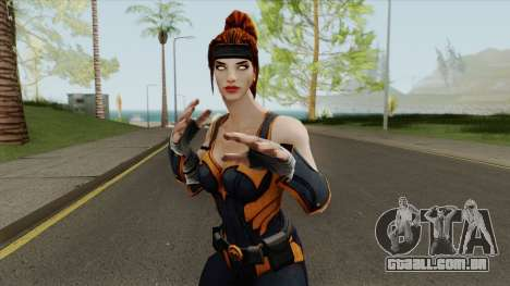 Artemis From DC Unchained para GTA San Andreas