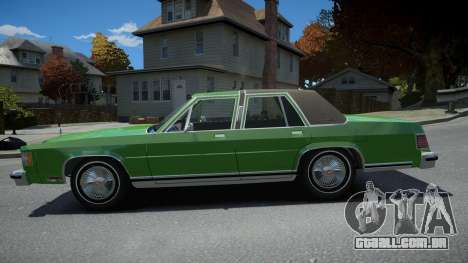 Mercury Grand Marquis LS 1986 para GTA 4