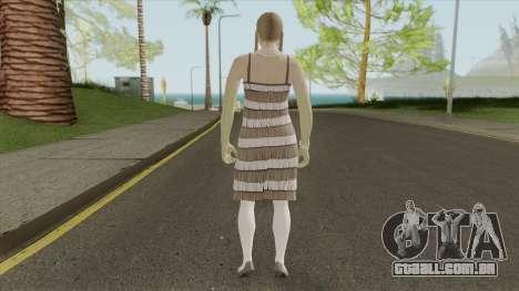 Female Random Skin 2 From GTA V Online para GTA San Andreas