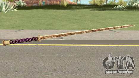 Gold Katana (Dynasty Han) para GTA San Andreas