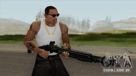 Contract Wars SPAS-12 para GTA San Andreas