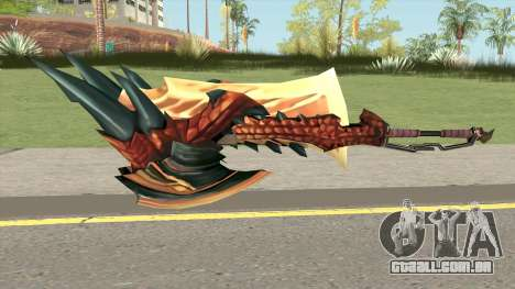 Monster Hunter Weapon V4 para GTA San Andreas