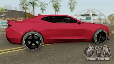 Chevrolet Camaro SS 2017 (SA Style) para GTA San Andreas