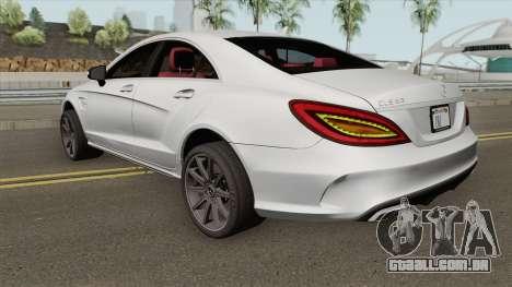 Mercedes-Benz CLS 63 AMG S para GTA San Andreas
